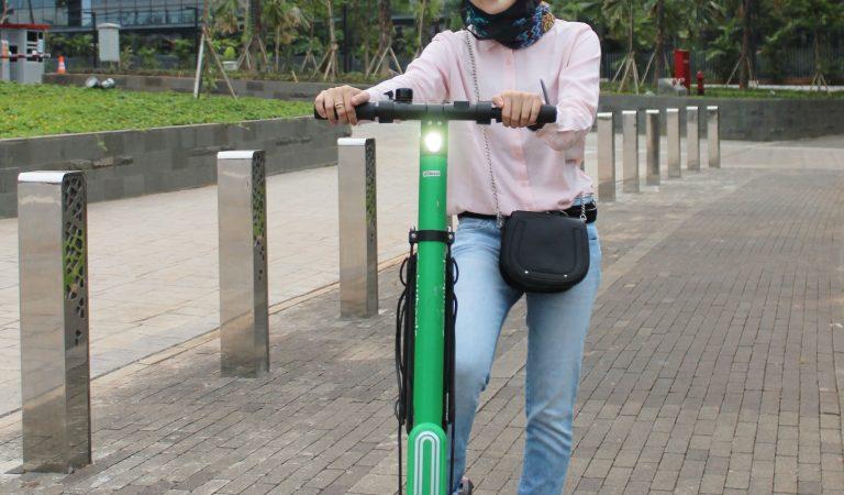 Habiskan Akhir Pekan Dengan Bermain Grab Wheels (Electricity Scooter)