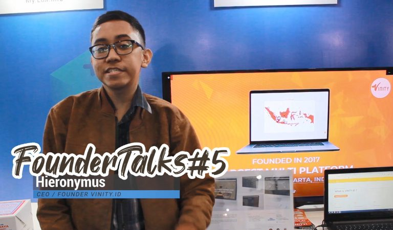 FounderTalk #5 Hieronymus – Founder Vinity.id