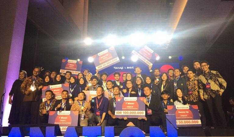 8 Pemenang Kompetisi Inovasi Ideanation Di Umumkan Langsung di Ideanation Future Festival (IFF) 2019