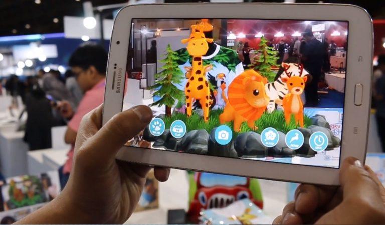 Kaos Anak Interaktif Dengan Teknologi Augmented Reality dari Elextra 4D Telkom University