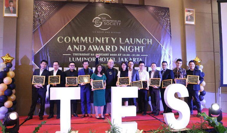 The Entrepreneur Society Award Night Apresasi Untuk Para Entrepreneur