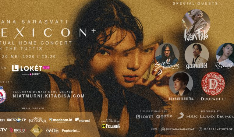 Isyana Sarasvati with The Tuttis: Gelar Virtual Home Concert Lexicon+