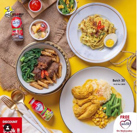 Yellow Fit Kitchen: Diet Tetap Makan Enak, Gak Turun? Refund!