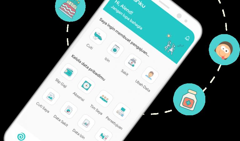 Gadjianku, Mobile App Bagi Karyawan Milenial