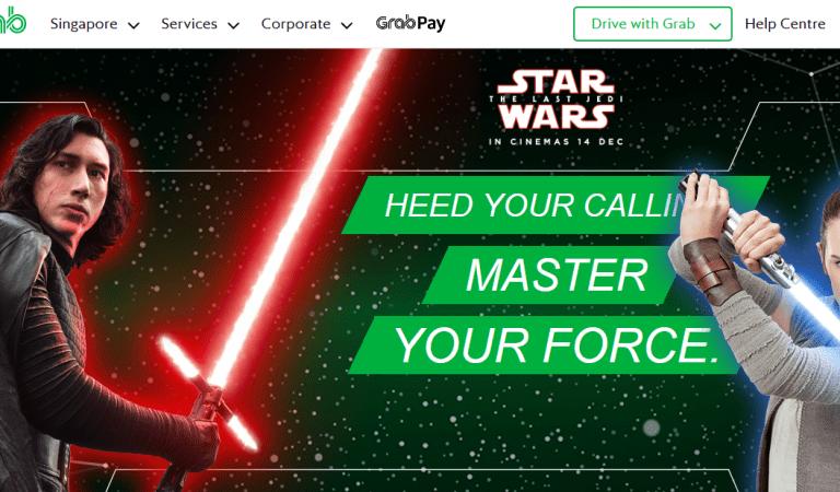Pilih Pihak Mana Kamu Bergabung Di Promosi Grab Dan Star Wars!