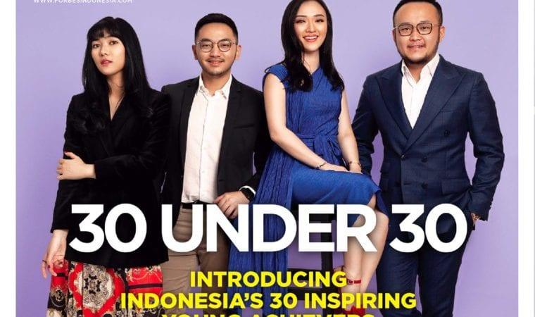 Membanggakan, Anak Muda Indonesia Sukses Masuk Forbes 30 Under 30 Tingkat Asia Tahun 2019