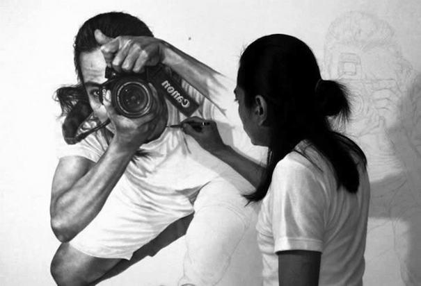 YoBerbagi: Veri Apriyatno Sang Pelukis Media Lilin & Social Media Art Influencer