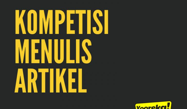 KOMPETISI MENULIS ARTIKEL YOOREKA