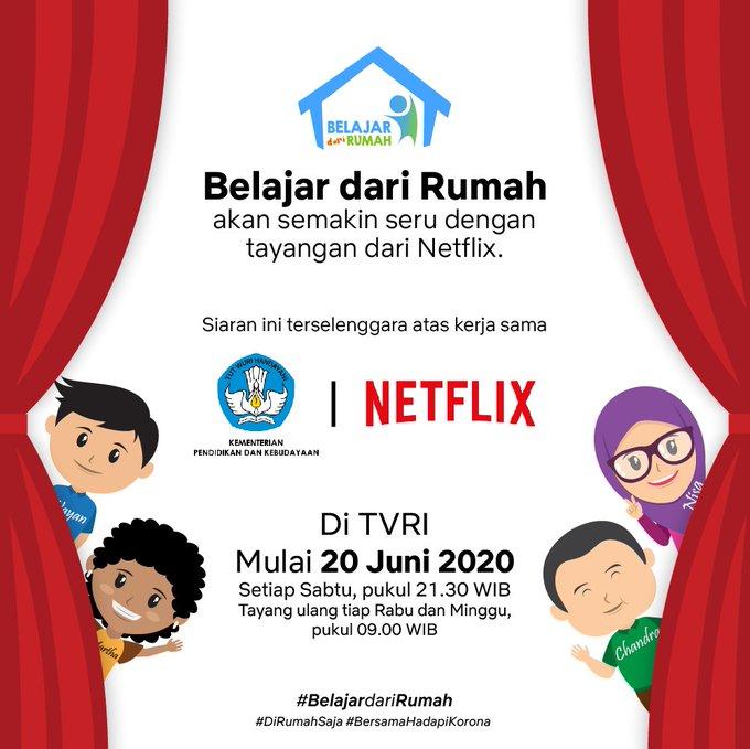 Kemendikbud Dan Netflix Bekerjasama Dokumenter Pilihan Siap Ditayangkan Yooreka Id