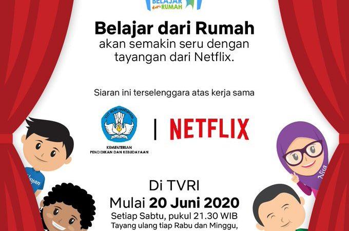 Kemendikbud dan Netflix Bekerjasama, Dokumenter Pilihan Siap Ditayangkan