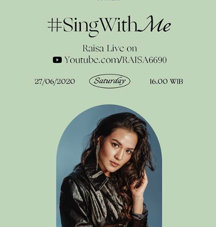 #SingWithMe Konser Virtual Raisa